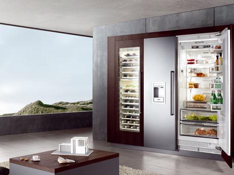 Americká lednice kuchyně