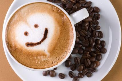 Káva šálek