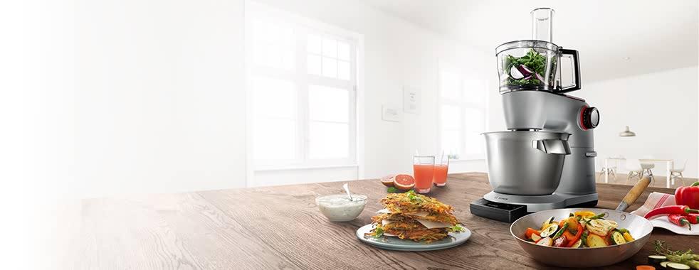Kuchyňský robot na lince