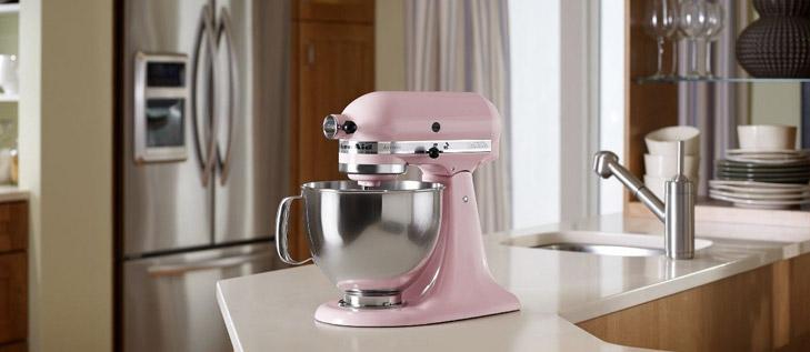 Kuchyňský robot růžový