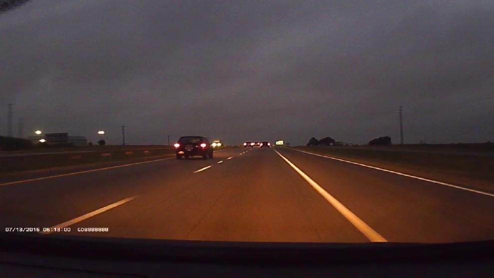 Noční záznam autokamera