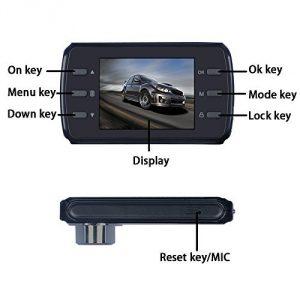 Zámek autokamera