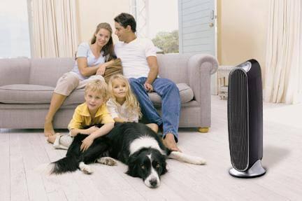 Čistička vzduchu do rodiny