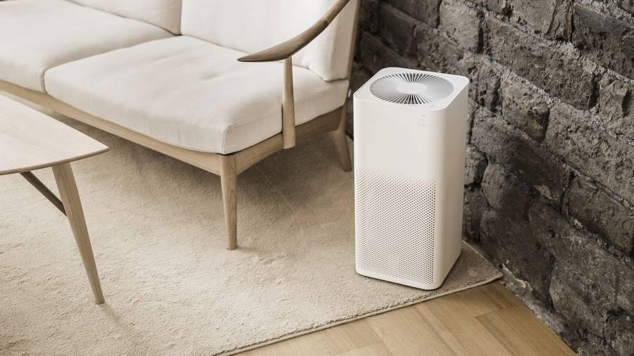 Čistička vzduchu v pokoji