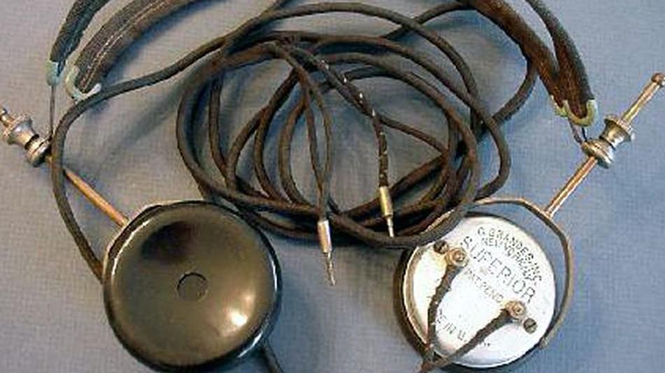Historie sluchátek