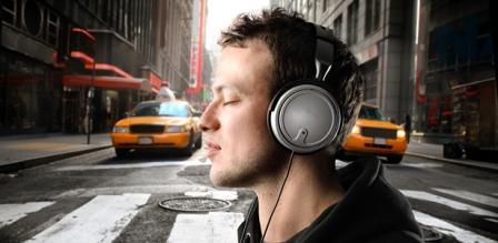 Sluchátka na cesty