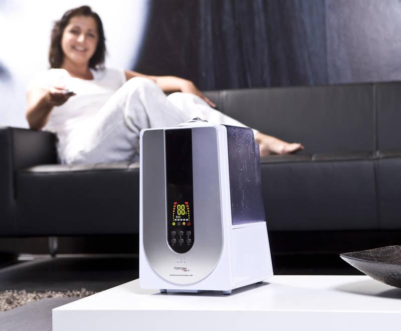 Zvlhčovač vzduchu na dálkové ovládání