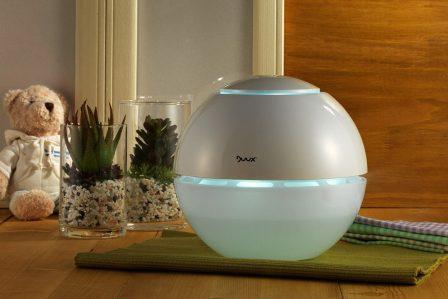 Zvlhčovač vzduchu v domácnosti