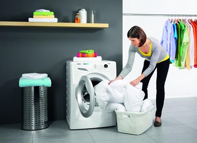 Pračka a prádlo