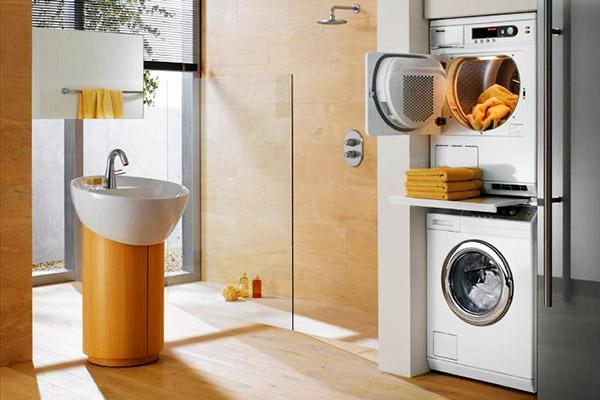 Sušička prádla v domácnosti