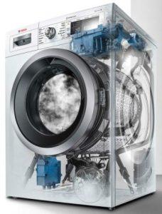 Vnitřní stavba pračky