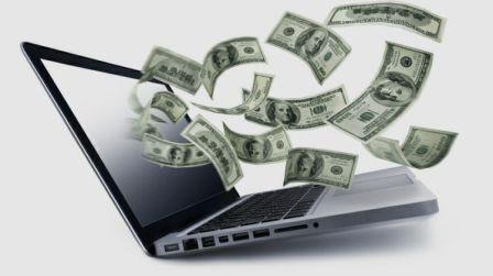 Notebook peníze