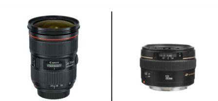 prime and zoom lens
