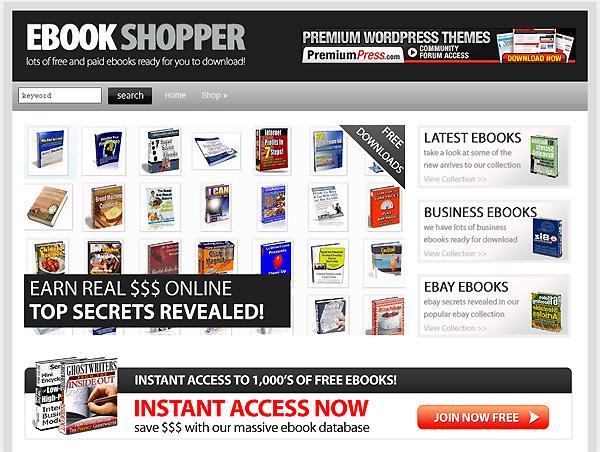 E-knihy knihkupectví