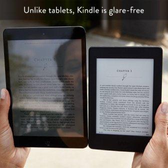 Srovnání čtečka vs. tablet