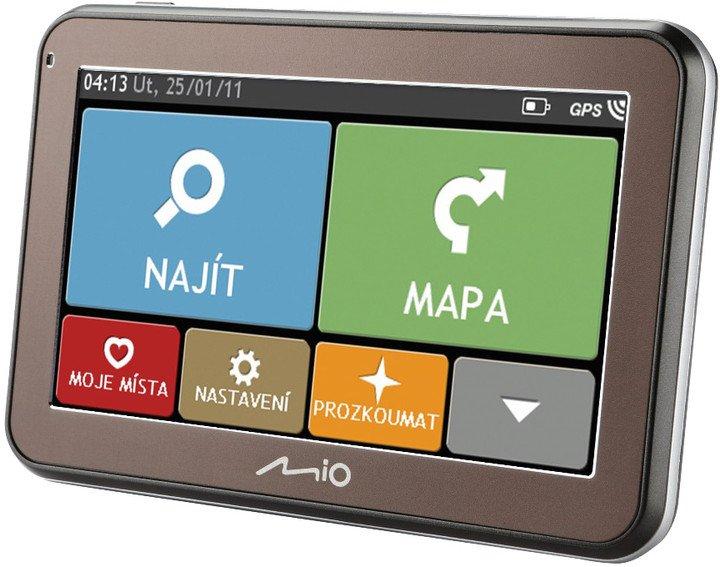 Aplikace GPS navigace