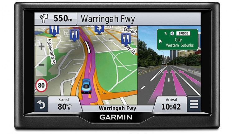 GPS navigace zobrazení