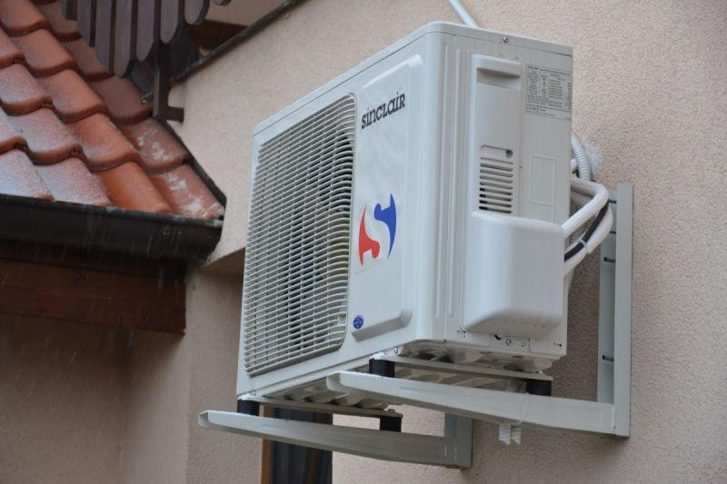 Klimatizace venku