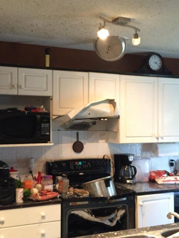 Exploze tlakového hrnce