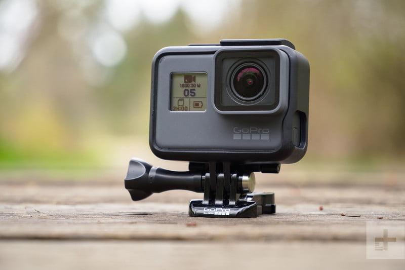 GoPro kamera do záhlaví