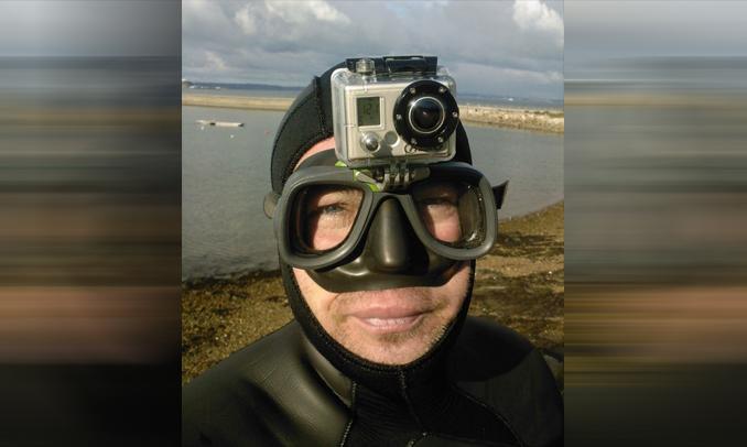 Outdoorová kamera potápění