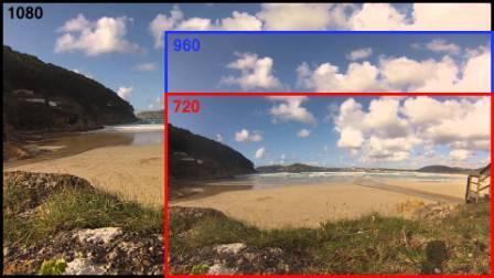 Rozlišení kamery