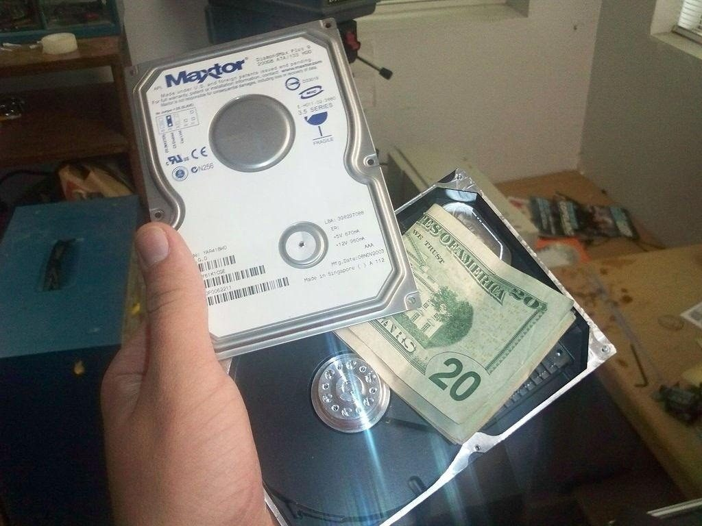 Externí disky a peníze
