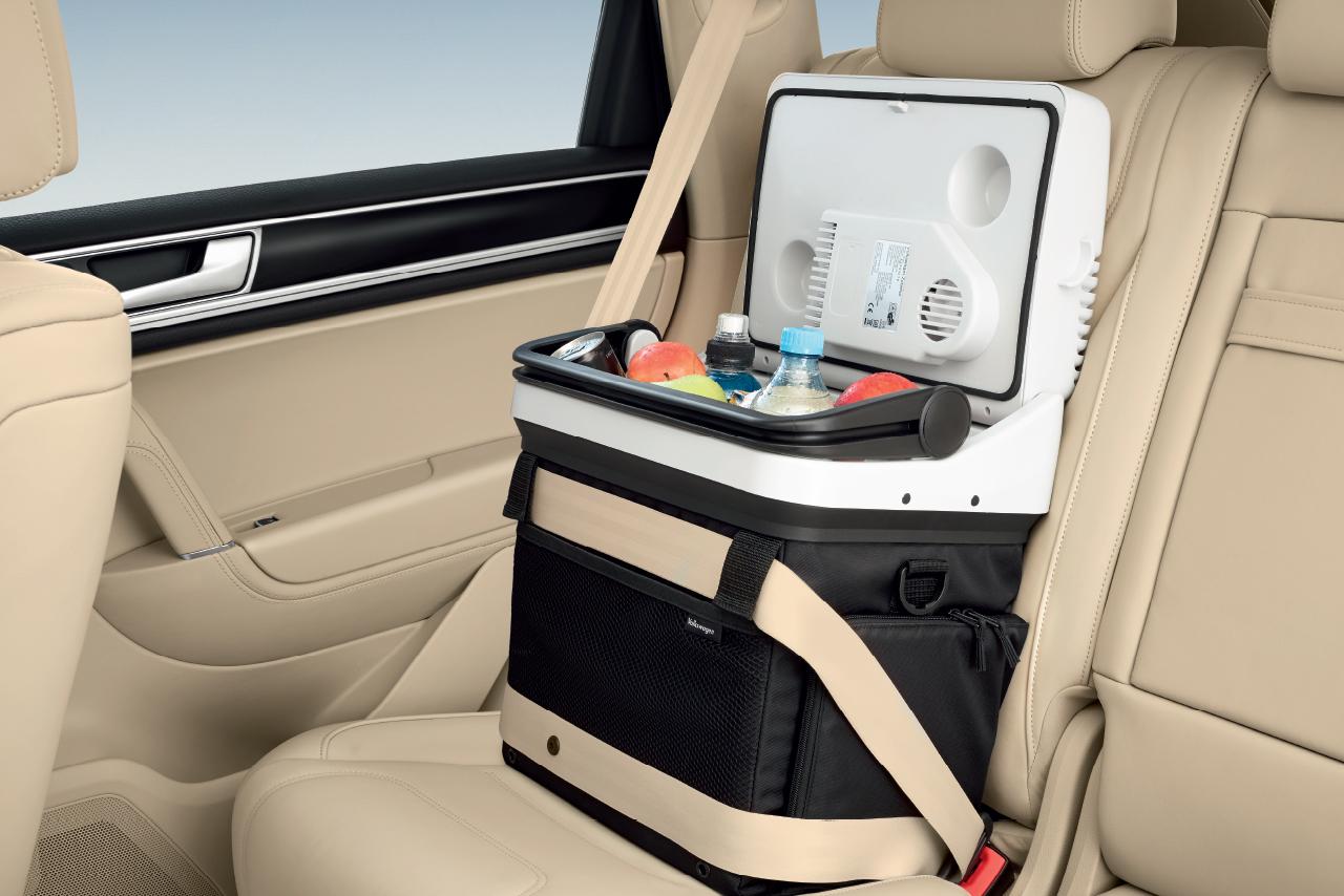 Autochladnička na zadním sedadle