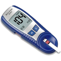 Glukometr bez pozadí