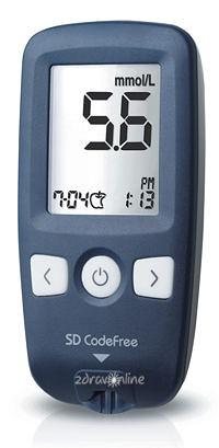 SD Codefree Glukometr