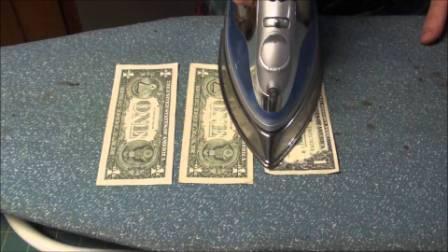 Žehlení peněz