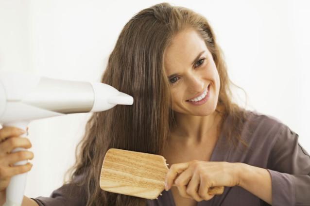 Jak sušit vlasy