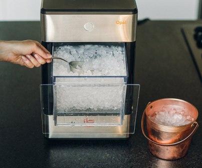 Led z výrobníku