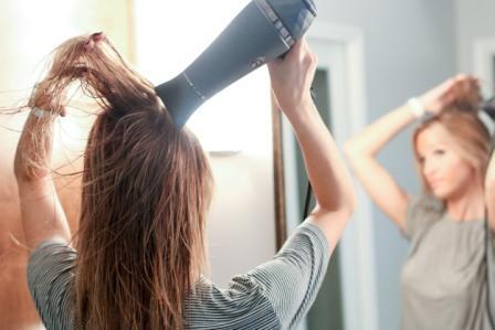 Vlasy po koupeli