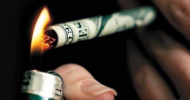 Cigarety a peníze