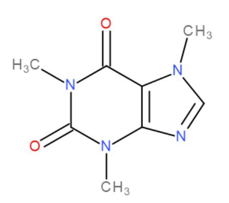 Kofein vzorec