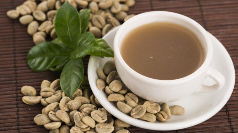 Uvařená zelená káva