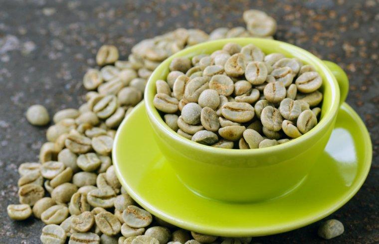 Zelená káva do záhlaví 2