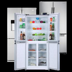 Americké lednice bez pozadí 3