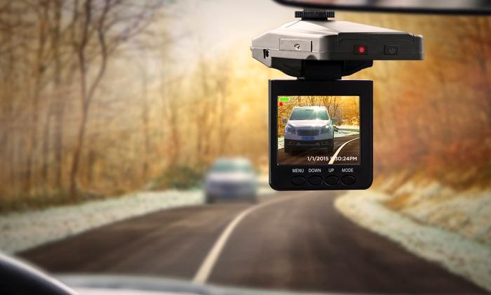 Autokamera záznam
