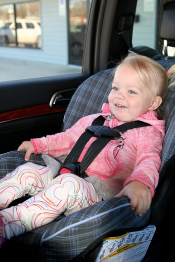 Autosedačka a dítě