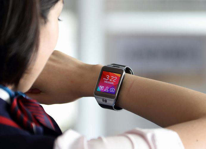 Chytré hodinky na ruce