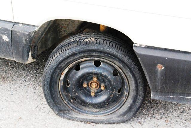 Defekt pneumatiky