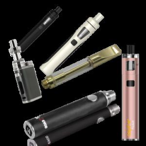 E-cigarety bez pozadí