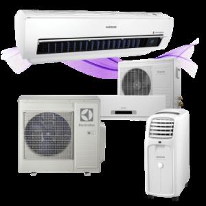 Klimatizace bez pozadí