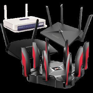 Routery bez pozadí