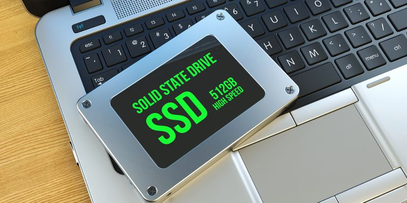 SSD disk fotka