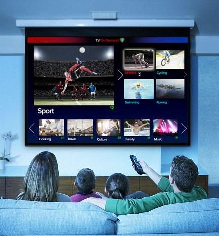 Smart televizor doma