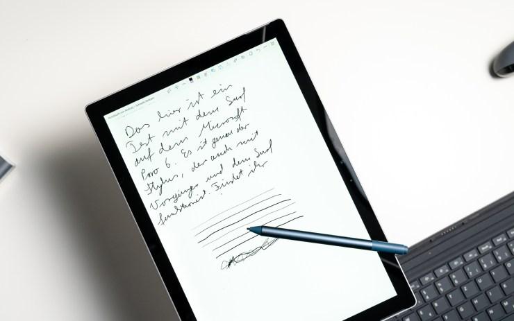 Tablet a stylus