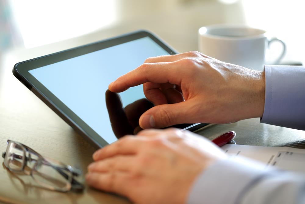 Tablet použití
